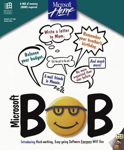 Microsoft... Bob. I have no idea how this could possibly have failed.