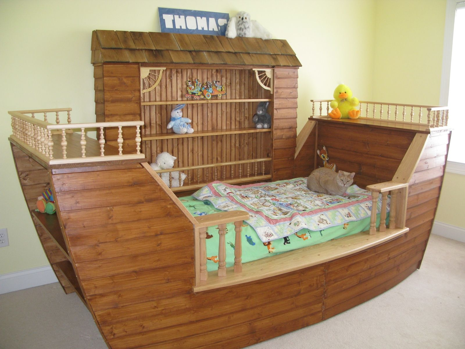 Child 39 S Noah 39 S Ark Bed Products I Love Pinterest Children S Nursery And Babies