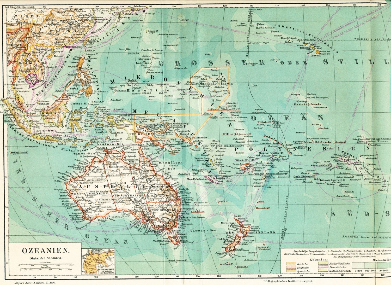 Pacific Island Map