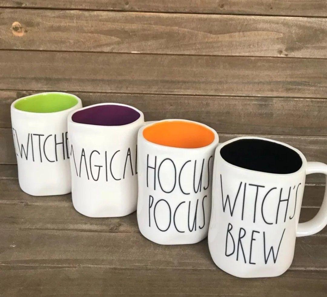 2018 rae dunn halloween mugs   halloween in 2018   pinterest