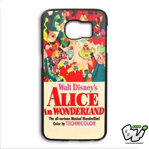 Alice In Wonderland Samsung Galaxy S6 Edge Plus Case
