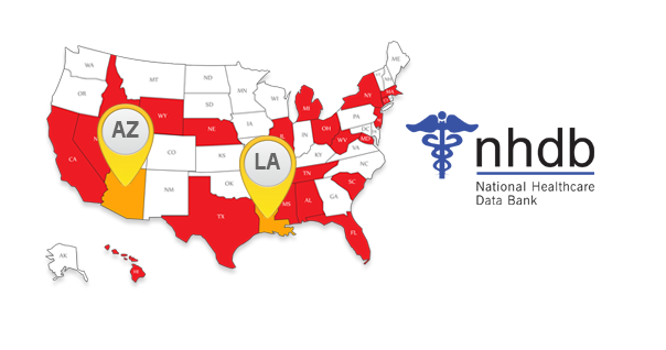 Arizona And Louisiana State Medicaid Exclusion Lists Added To Sanctioncheck National Healthcare Data Bank Nhdb Louisiana State National Health Care