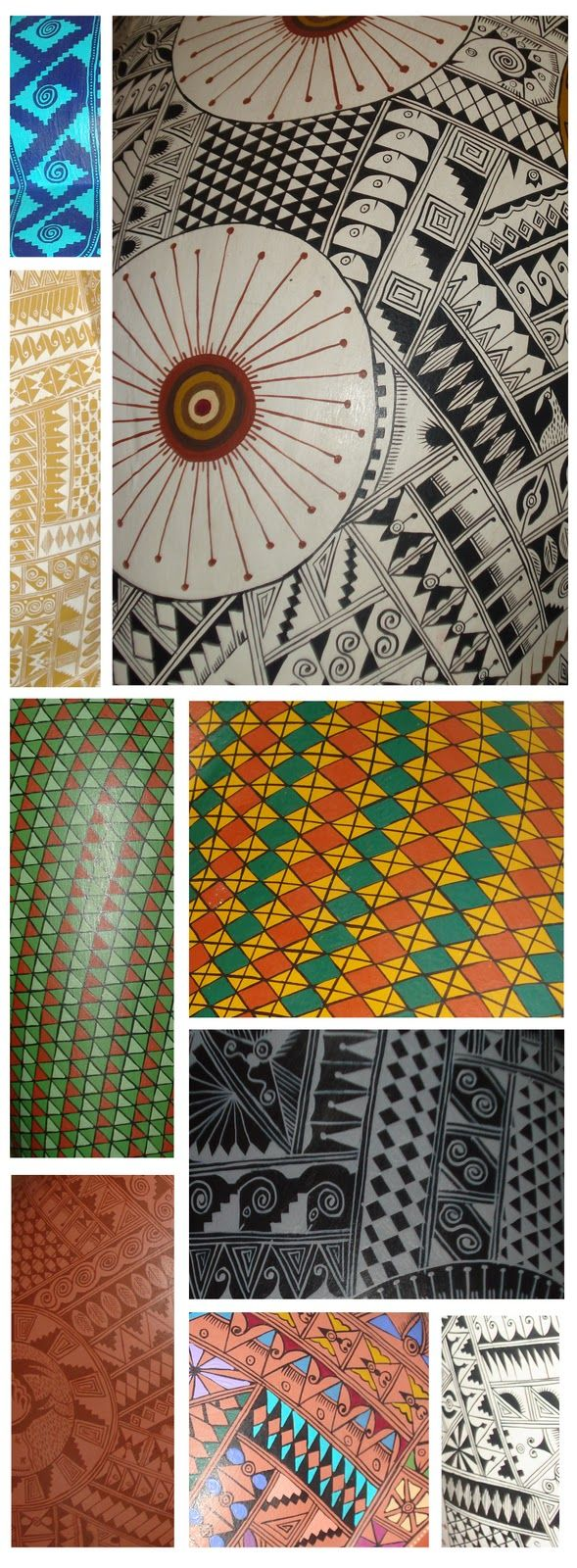 Patterns Found In Taos New Mexico Via Hunt Gather