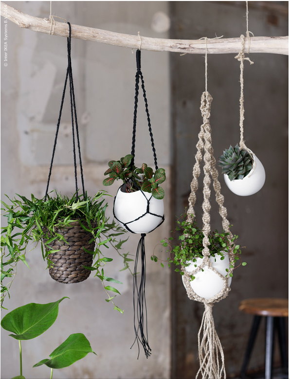 10 Awesome Ikea Hacks By Ikea Macrame Plant Hanger Patterns Hanging Plants Diy Macrame Plant Hanger