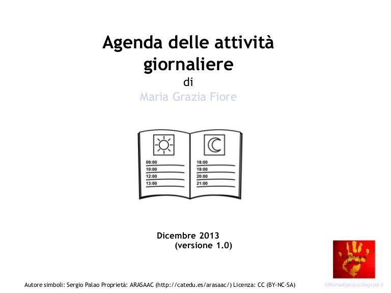 Agenda Visiva Realizzata Da L Officina Di Jacopo Prima Versione