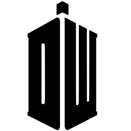 Doctor Who Logo New Stickerish Com Doctor Who Logo Doctor Who Tattoos Doctor Who