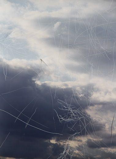 Jim Hodges - scratched sky