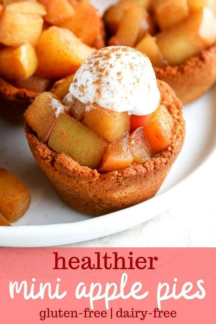 Mini Apple Pies  - A Healthy Recipe Resource -Healthy Mini Apple Pies  - A Healthy Recipe Resource