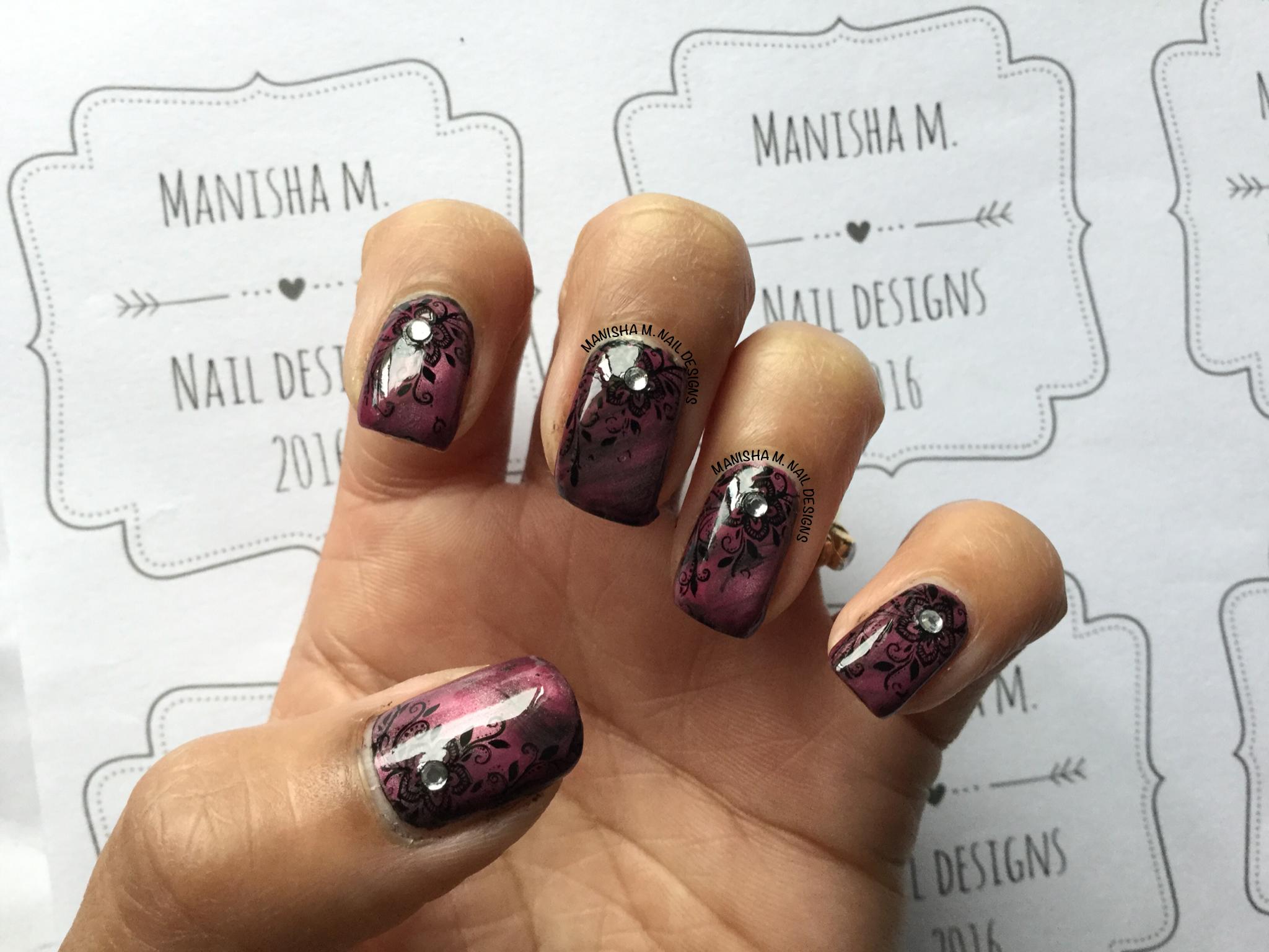 BM-XL206   Manisha M. Nail Designs - Nail Art by Me ❤   Pinterest ...