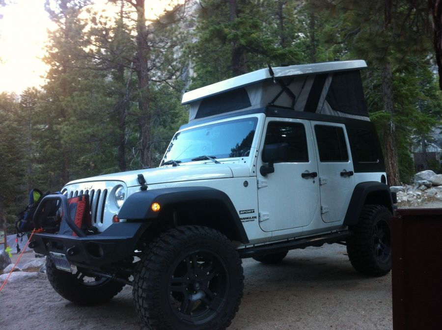 Ursa Minor Pop Top Jeep JK   Expedition Portal. Pop Up TentRoof ...