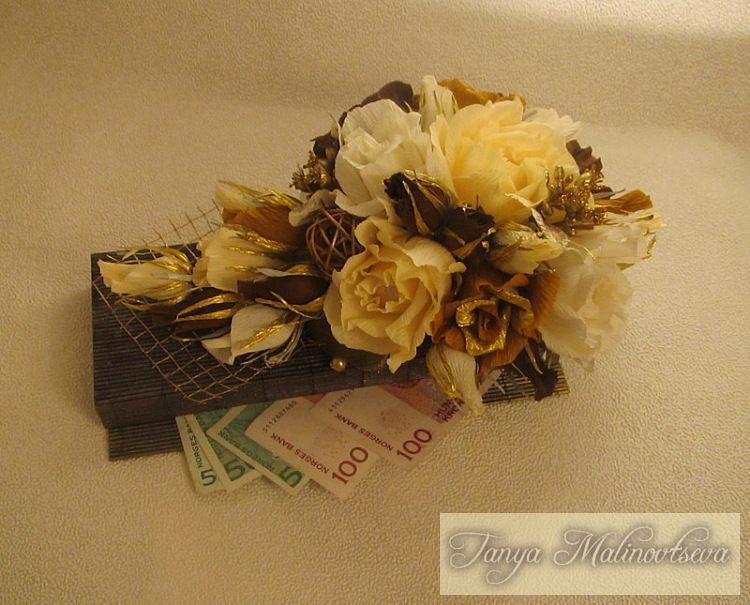 (4) Gallery.ru / Фото #20 - Шкатулки для денежных купюр ...