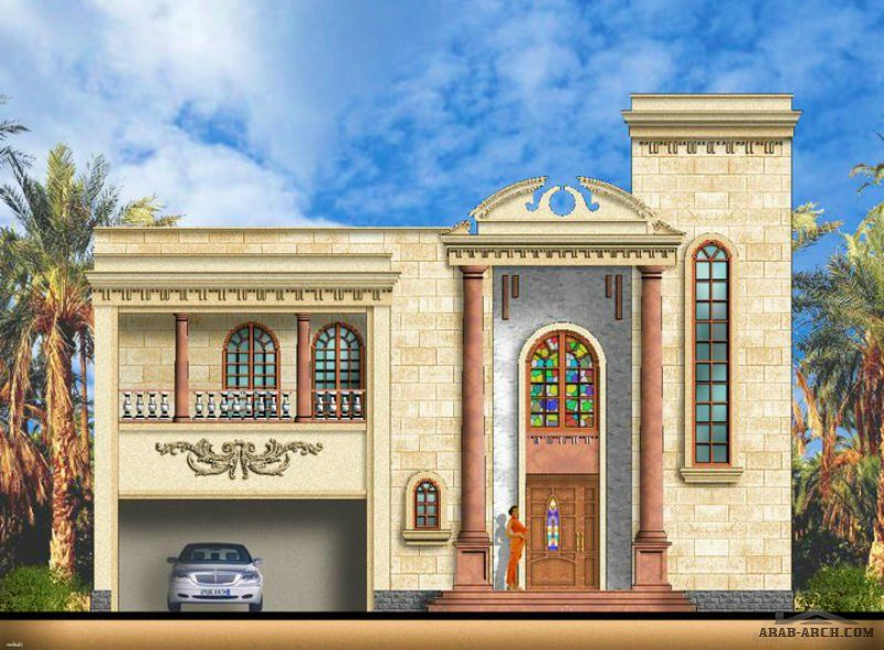 arab arch » صفحة 57 Flat roof house, Morrocan house