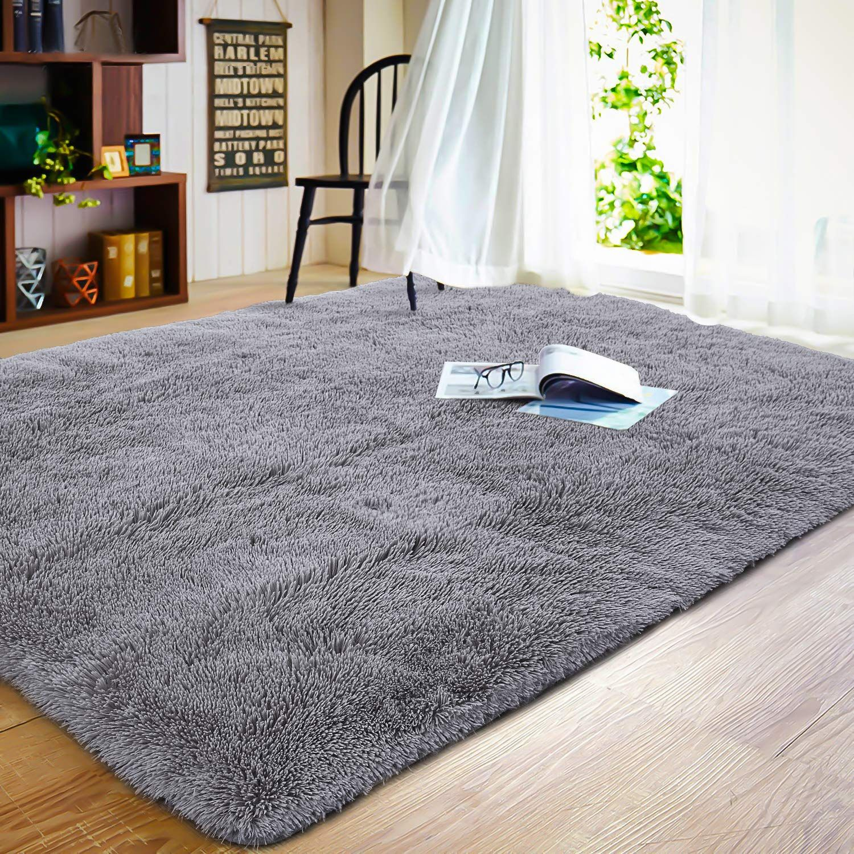 Soft Fluffy Shaggy Kids Room Nursery Rug Warm Area Rugs Bedroom Living Room Carpet Hypoallergenic Washa In 2020 Rugs In Living Room Living Room Carpet Textured Carpet #washable #living #room #rugs