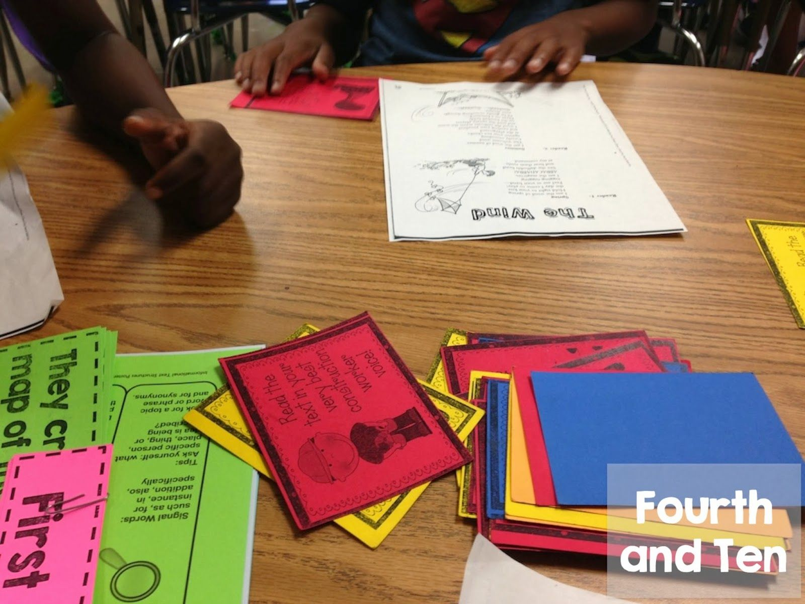 Daily 5 Set Up In A 4th Grade Classroom