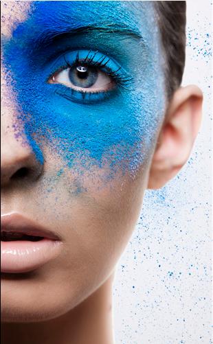 #Pool #eye #makeup #blue   Disco makeup, Beauty eyes, Eye ...