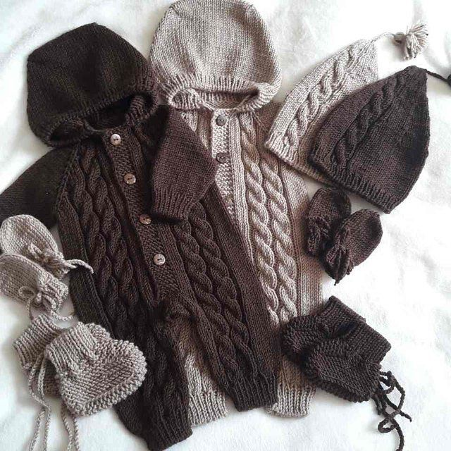 Knitted Baby Clothes Hand Knit Baby Set Knitted Baby Mint