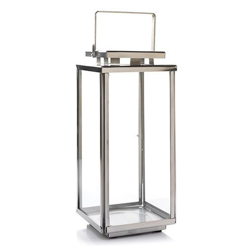 Our Exclusive Collins Lantern Brings Classic Good Looks: Everyday Metal Small Nauset Lantern : Jar Candle Holder