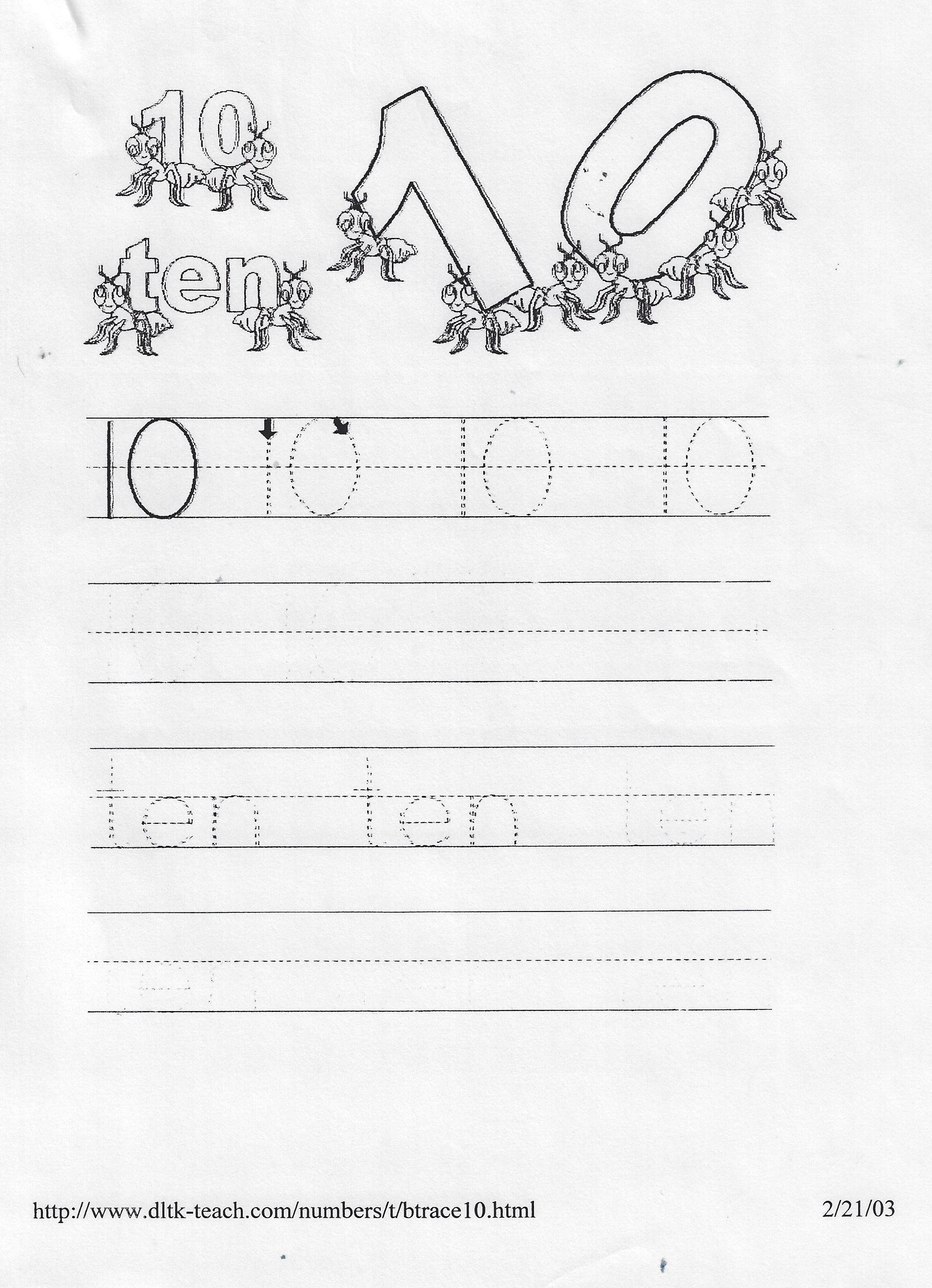 Pin By Guylaine Labbe On Preschool Numbers
