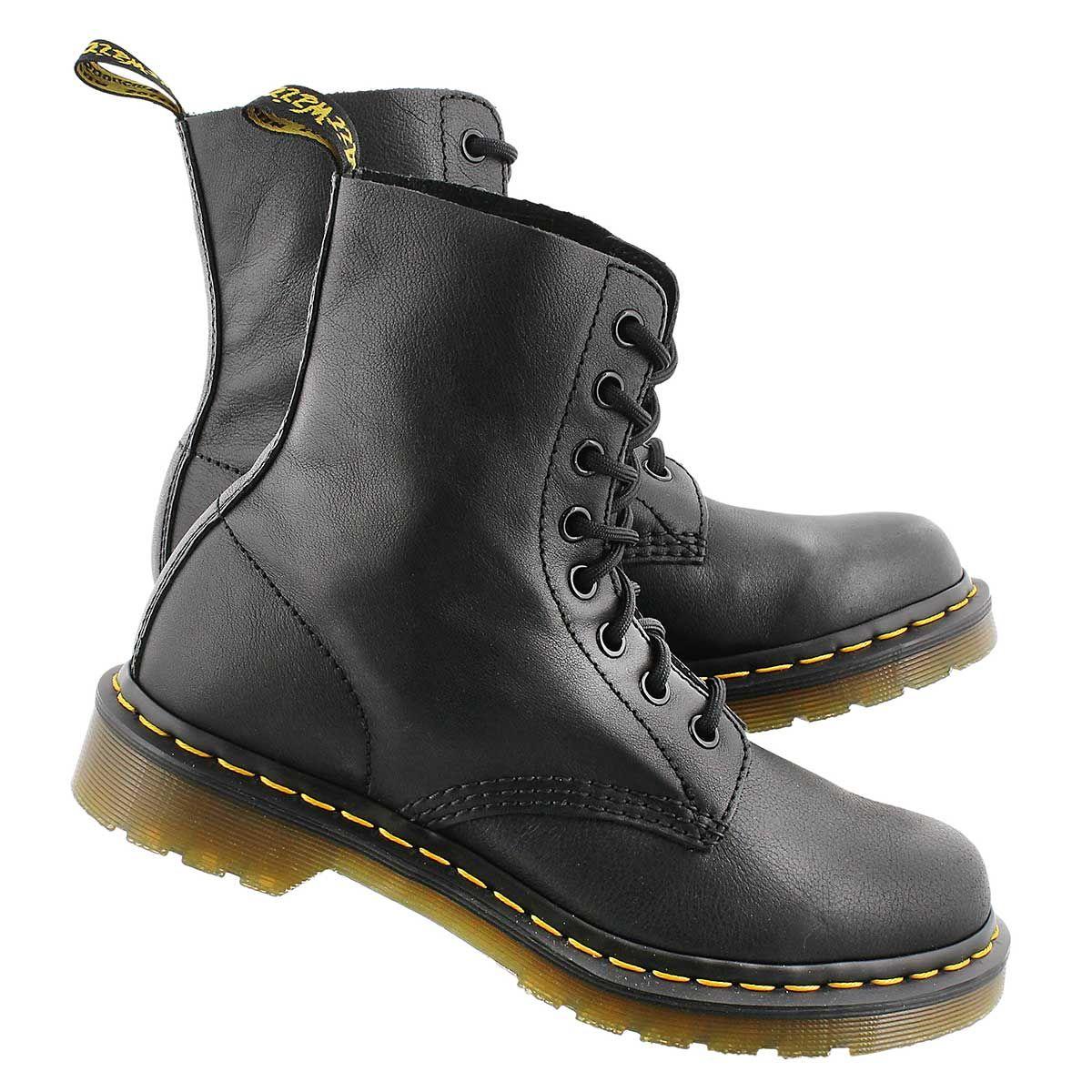 Dr Martens femme Bottines Boots pascal rouge,chaussures dr