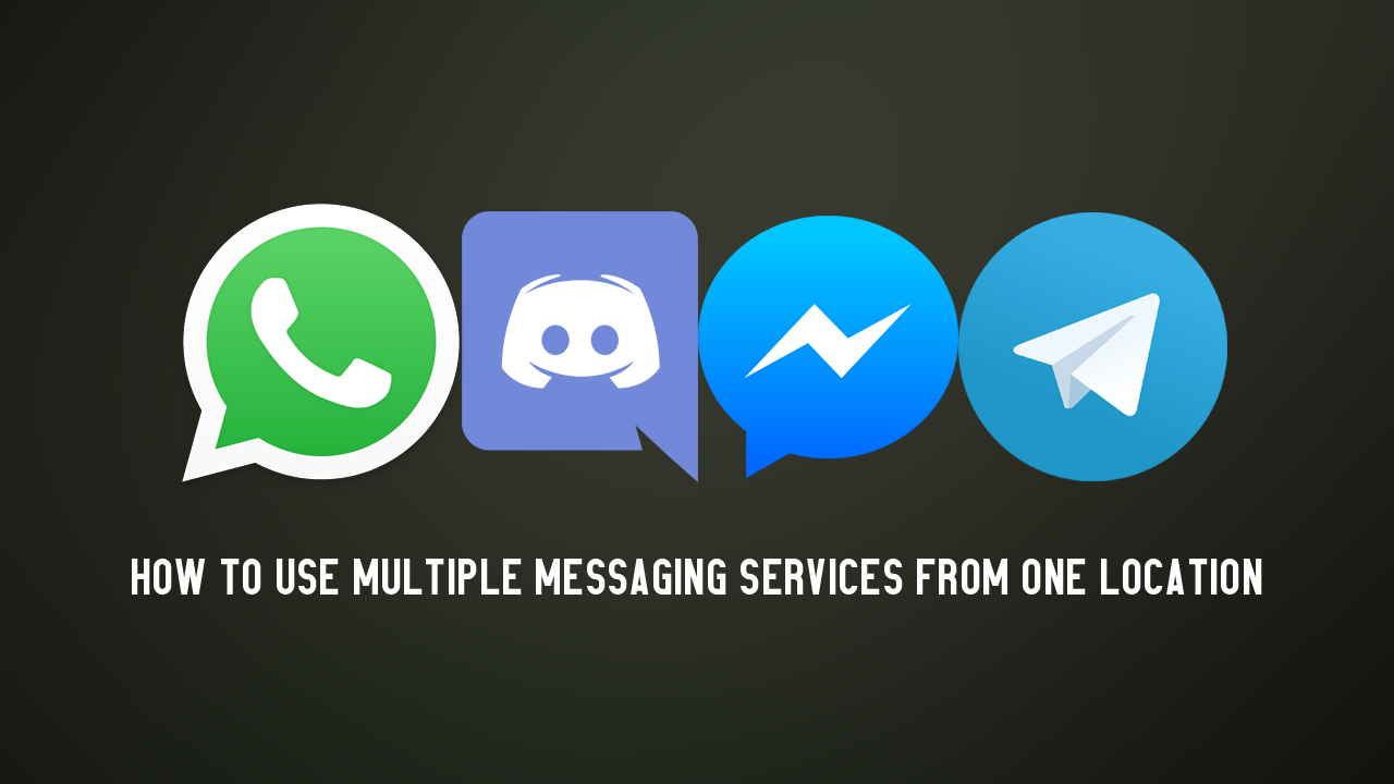 How to View & Use Multiple Messaging Services From One