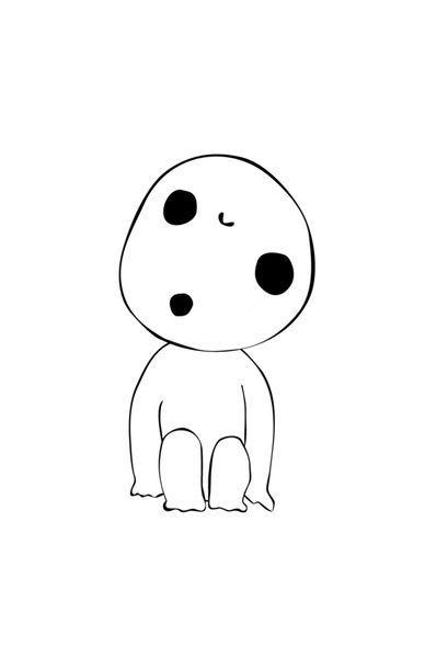 白いで木霊 谺 こだま Ghibli Tattoo Prinzessin Mononoke Tattoo Studio Ghibli