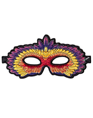 Red Parrot Mask Halloween Costume   ca $8
