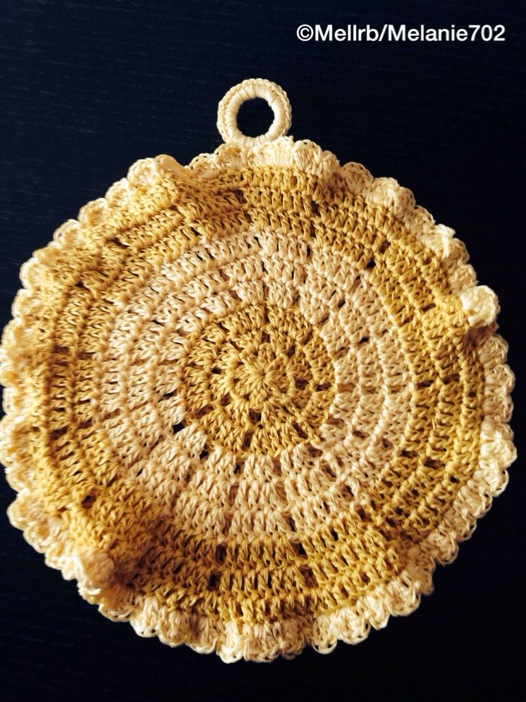 Crochet potholder Crafts - Crochet Pinterest
