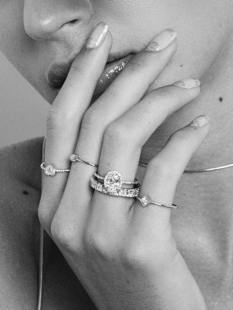 b0b1e775e2 The Rose Cut Heart Ring – Après Jewelry | Single Stone Rings | Rings ...