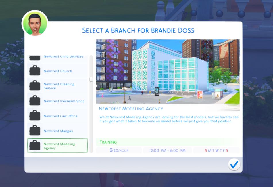 FullTime Jobs v2 Sims 4 jobs, Job, Sims cc