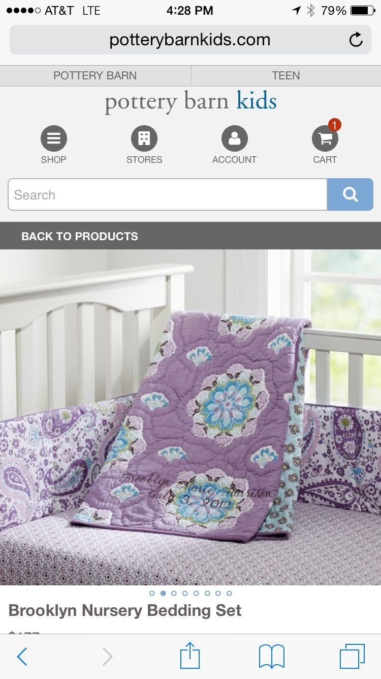 Brooklyn Baby Set Nursery Bedding Sets Nursery Bedding