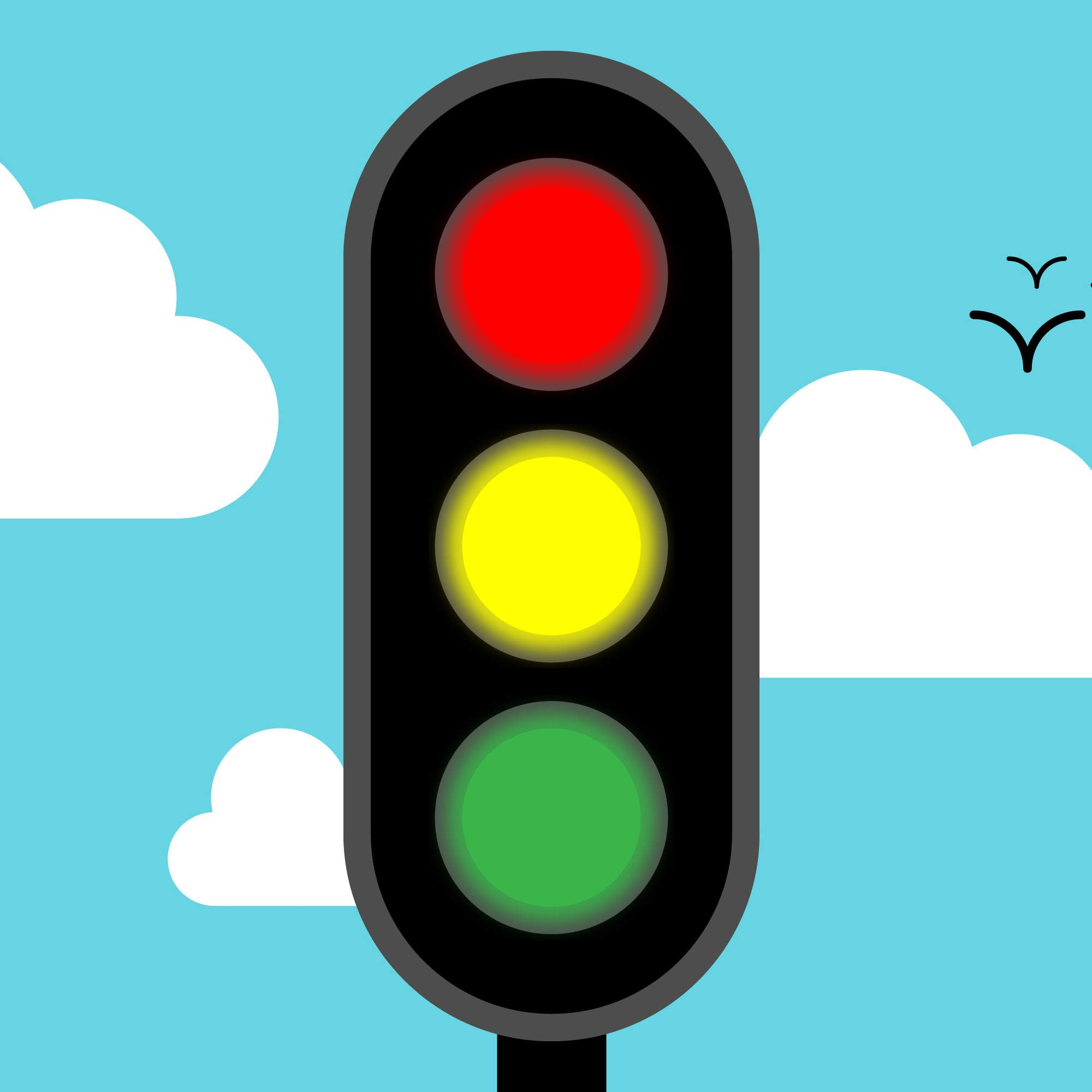 The Reason Traffic Lights Are Red, Yellow, and Green | Traffic light ... for Traffic Light Green Clip Art  66pct