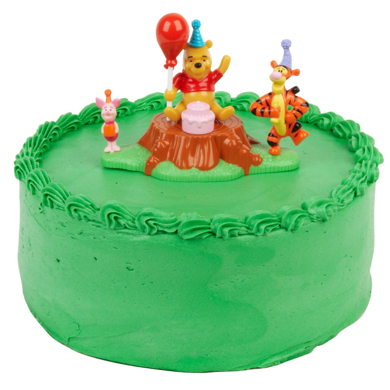 Winnie The Pooh Magic Balloon Cake Topper Description Celebrate With And Balloons This Playful Shows Tigger Piglet