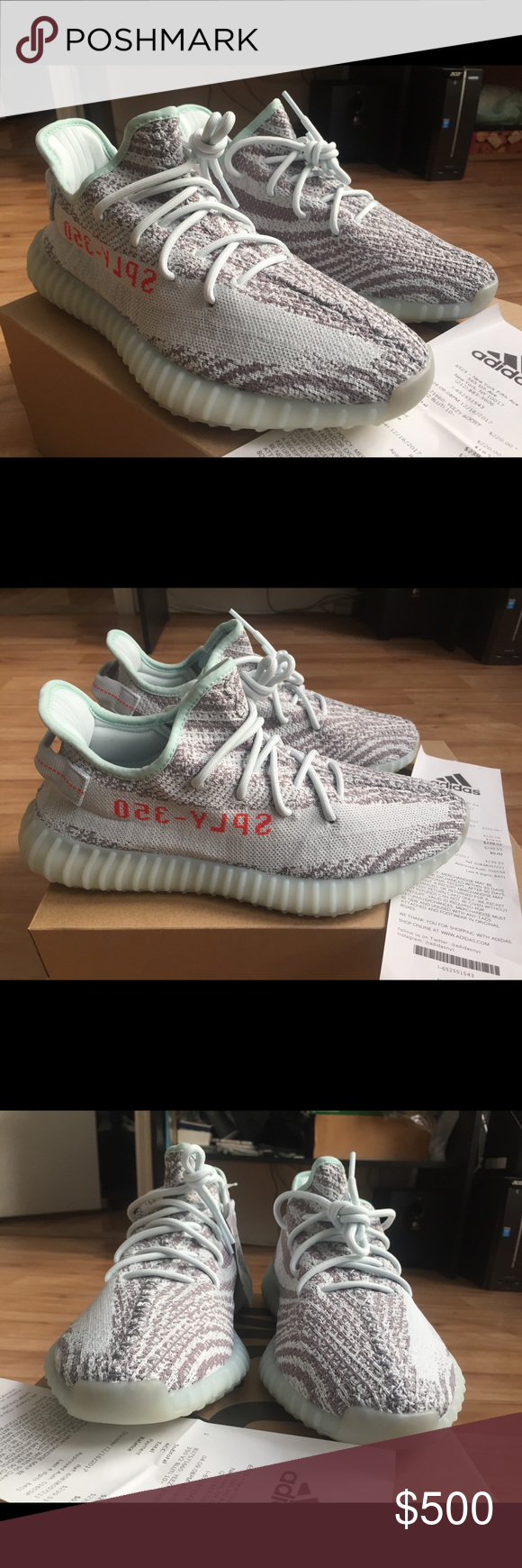 6a51844eae694 Adidas Yeezy Boost 350 V2 - (Blue Tint) 10.5 Men 100% authentic can provide receipt  proof Brand new