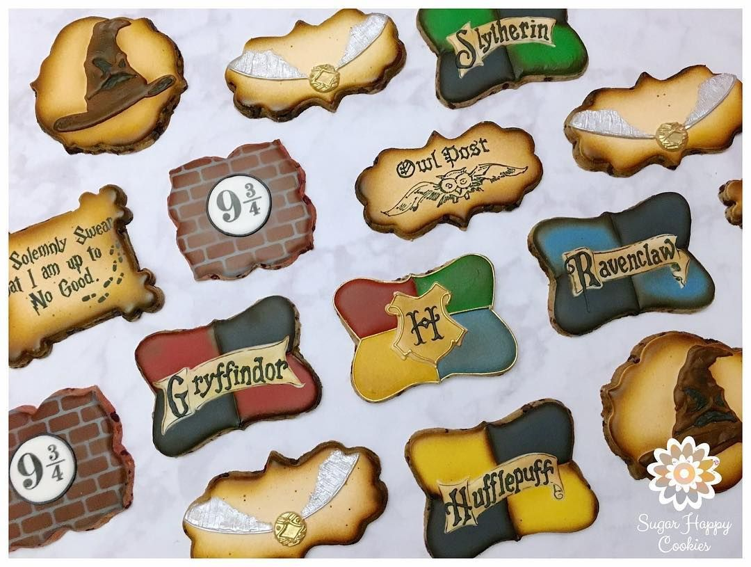 """Harry Potter Sugar Happy Cookies 