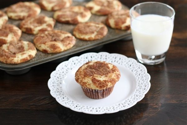 Snickerdoodle Muffins let-s-eat