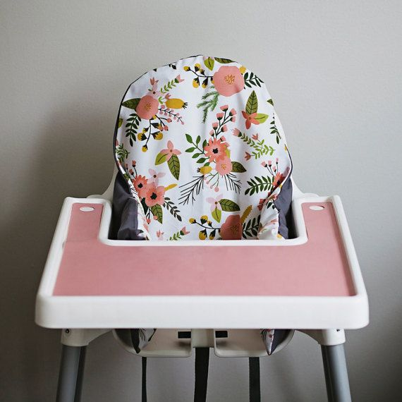 High Chair Table Cover Top Patio And Chairs Sprigs Blooms Ikea Antilop Highchair Preorder By Yeahbabygoods
