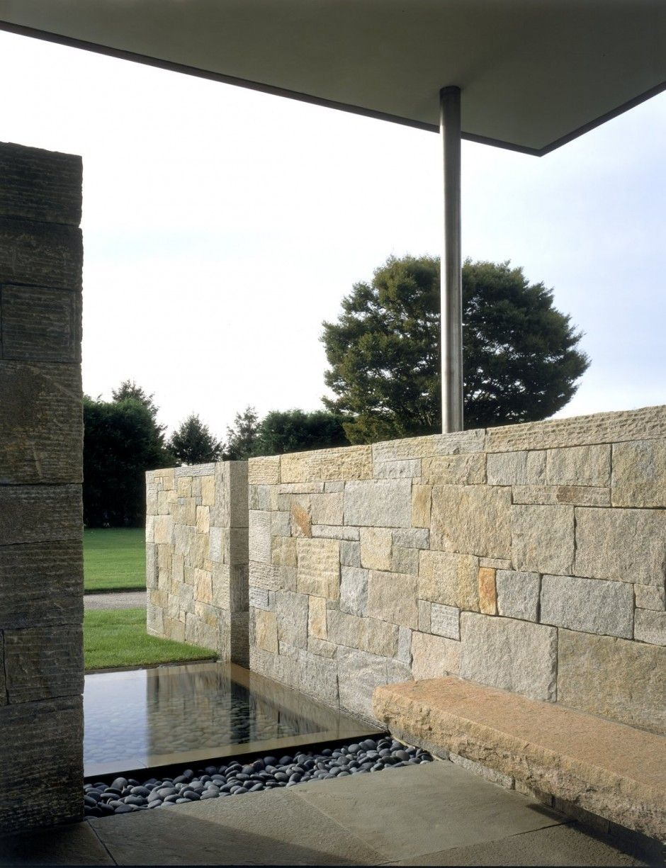 Water feature - stone houses / leroy street studio | DREAM ...