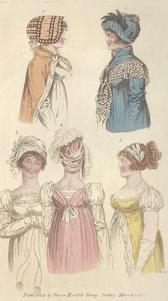 10 Gowns & Pelisses  Regency era fashion, Fashion plates