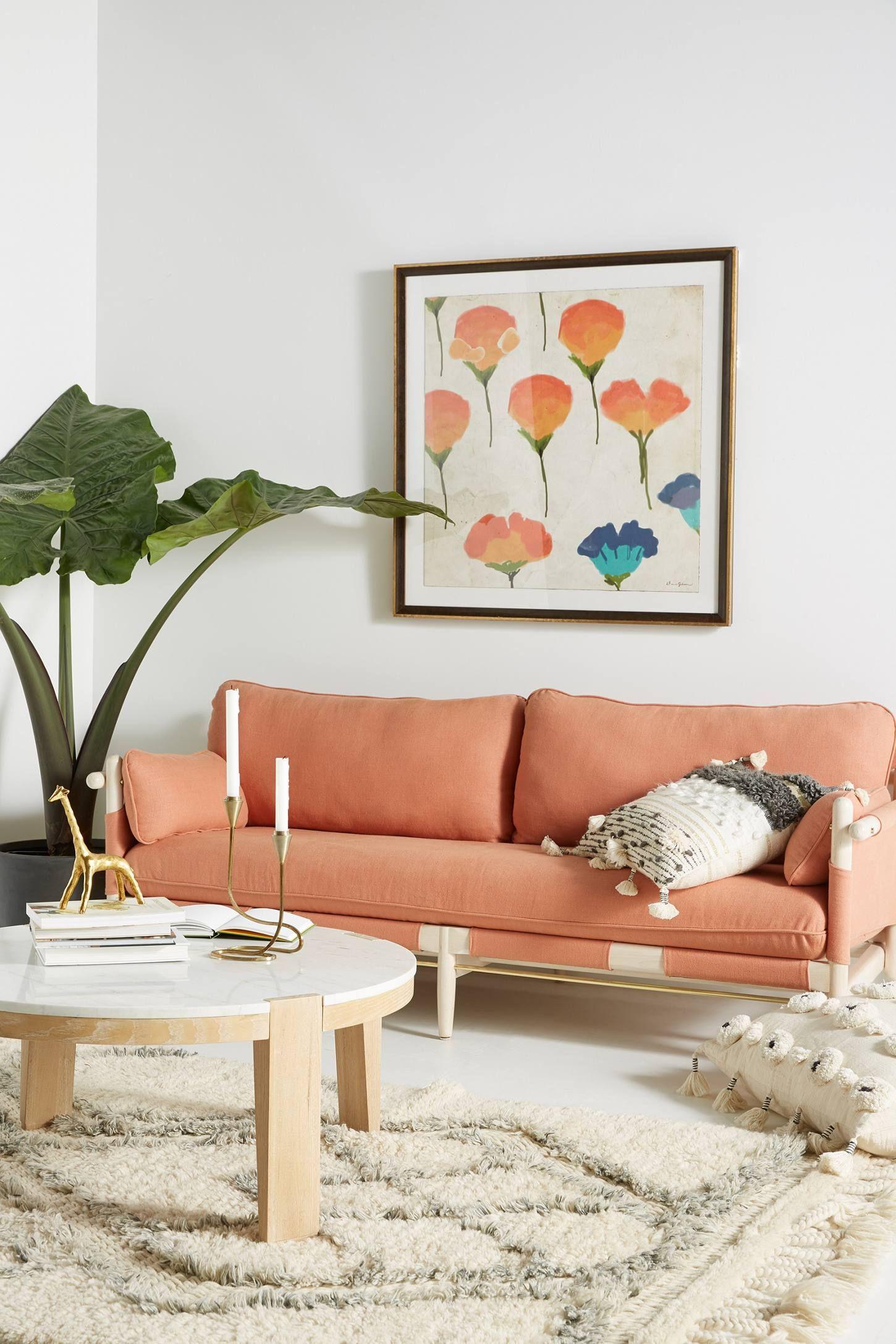 Belgian Linen Jamaica Sofa Anthropologie Classy Decor Living Room Designs Home Decor Download anthropologie living room