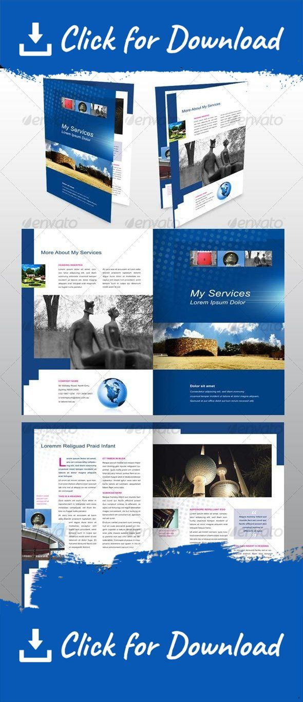 4 Page Flyer Template