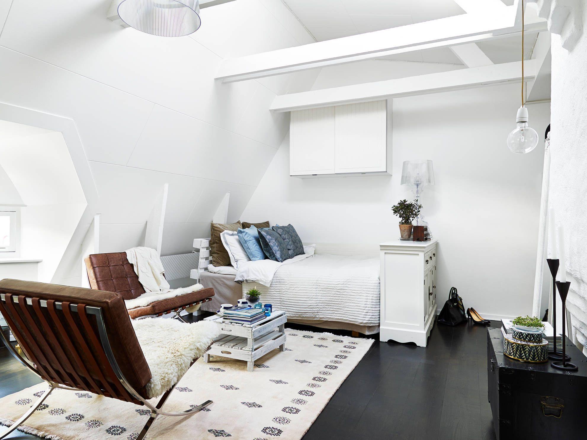 Les petites surfaces du jour : 31m² sous les toits