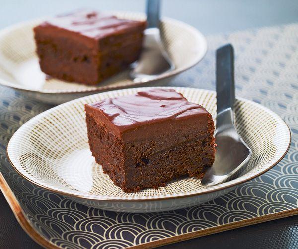 Gateau au chocolat et griottesrecette