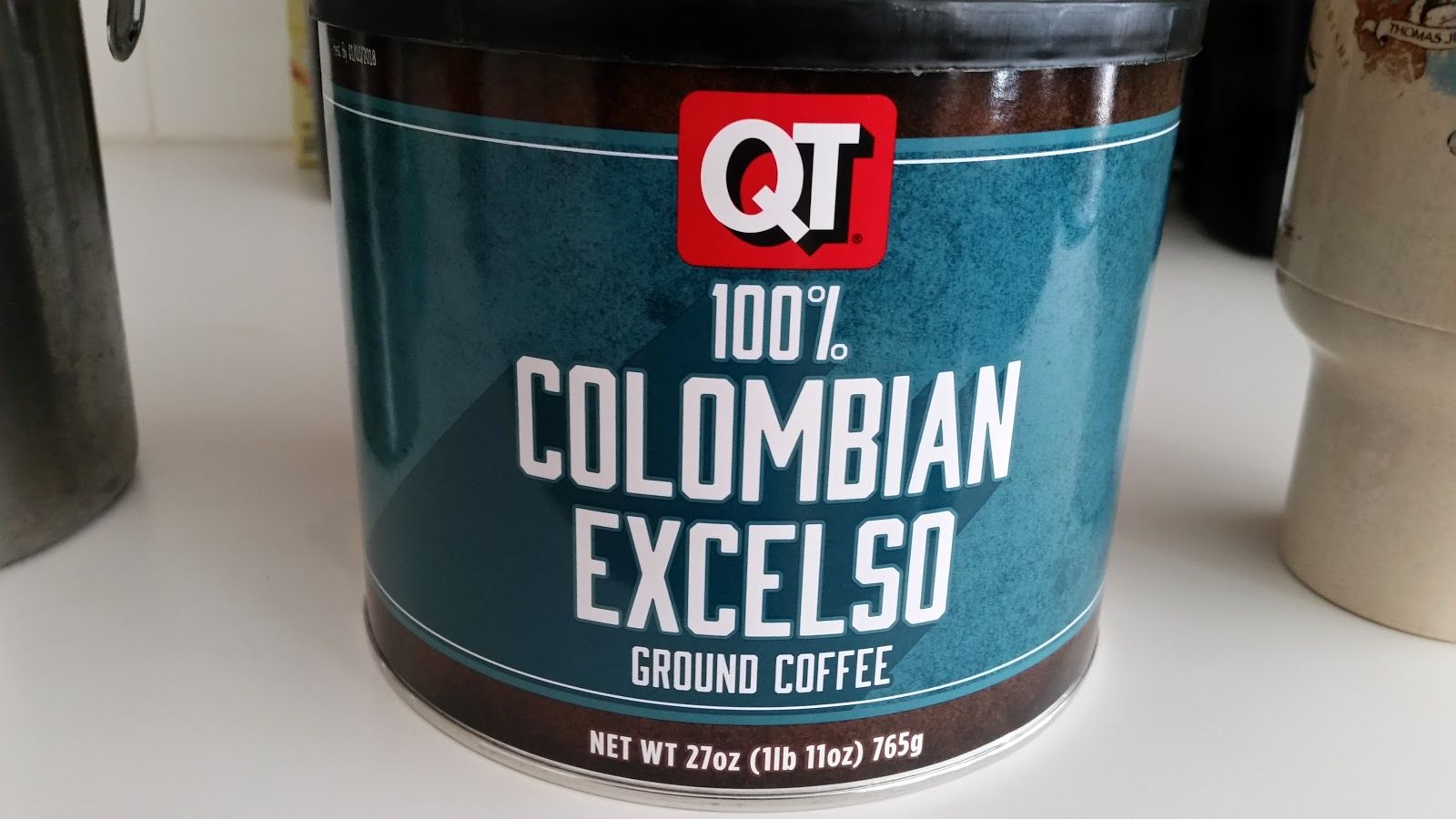 Quick Trip Colombian Blend Coffee review, Quick, Grocery