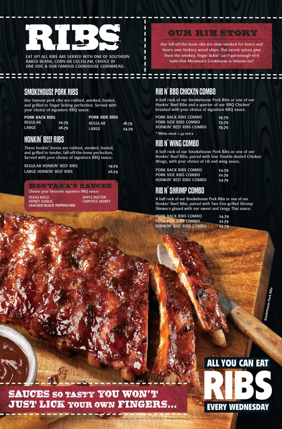 Montana Cookhouse Ribs C H E E R S Montana S Cookhouse C H E E R S Hello Folks You All Should Really Join My Family And Myself Pork Ribs Eat Baked Corn