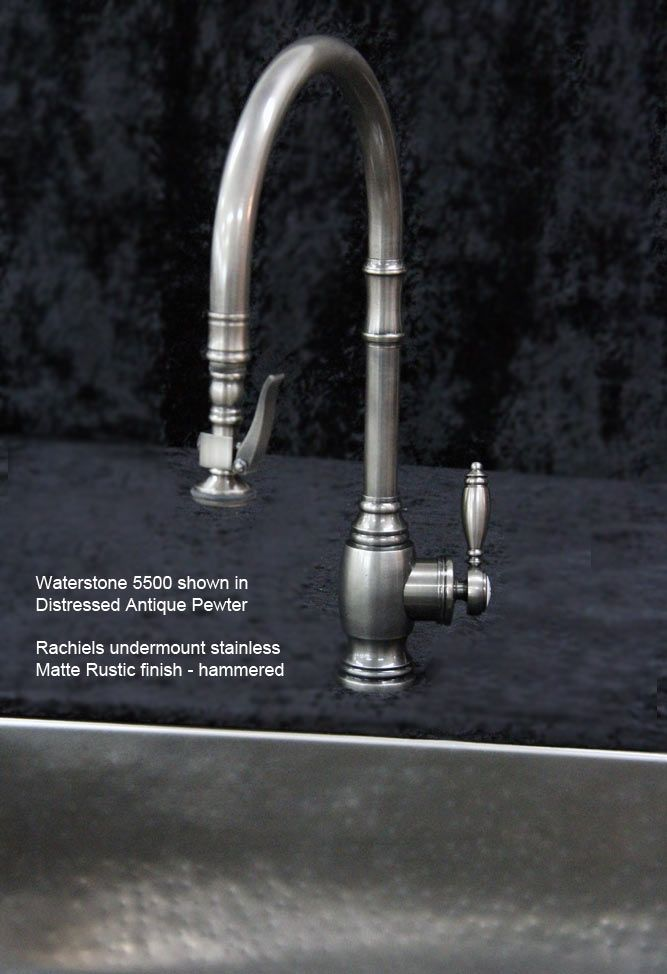 Pewter Kitchen Faucet Round Tables Waterstone Hampton In Antiqued Google Search