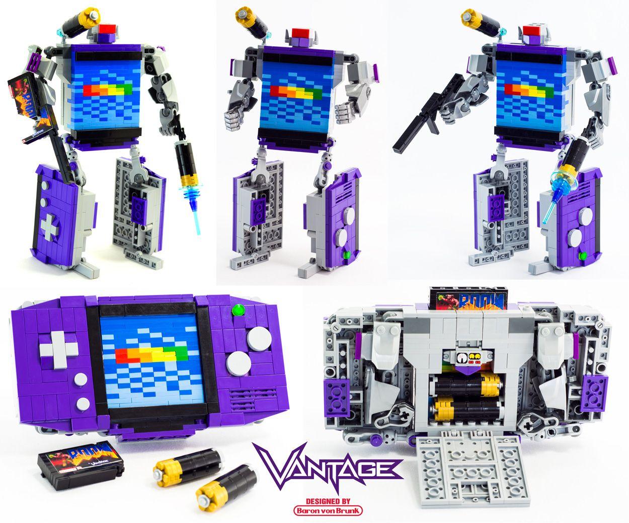 Baron Von Brunk S Website Of Justice Lego Transformers Lego Lego Games