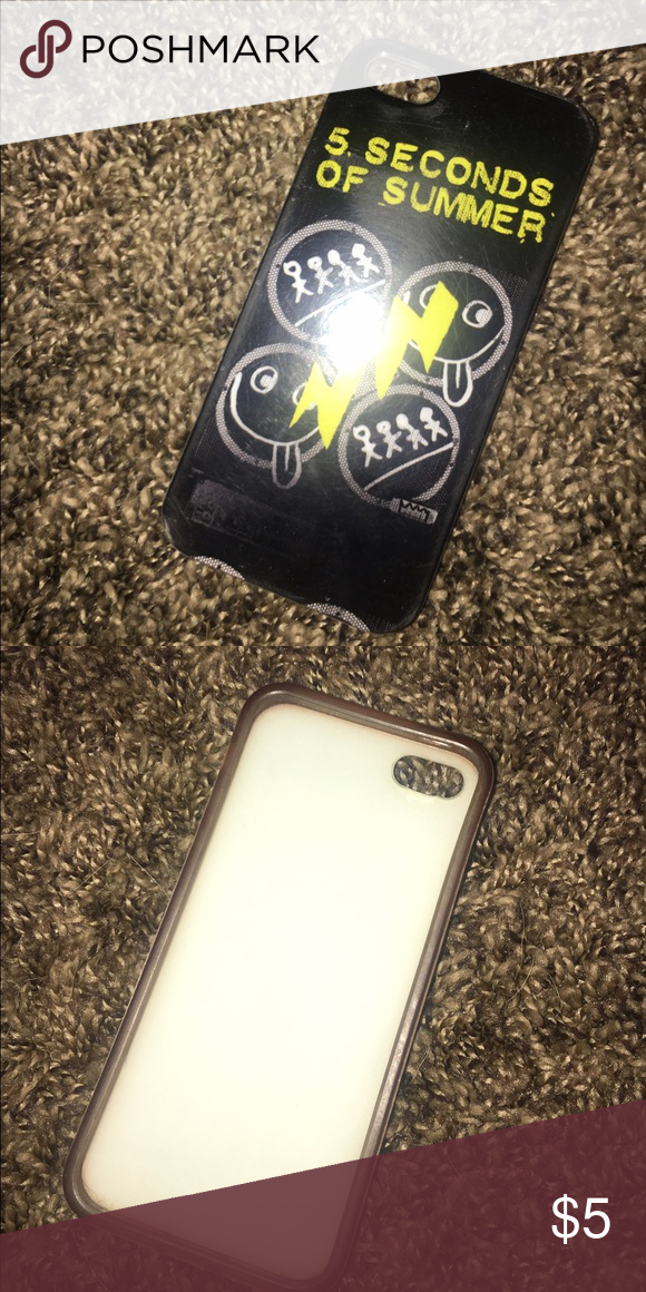 Five Seconds of Summer 5sos iPhone 5s Case Five seconds of summer iPhone 5s case. It is in perfect condition! Super cute. ||NOT FOREVER 21|| Forever 21 Other