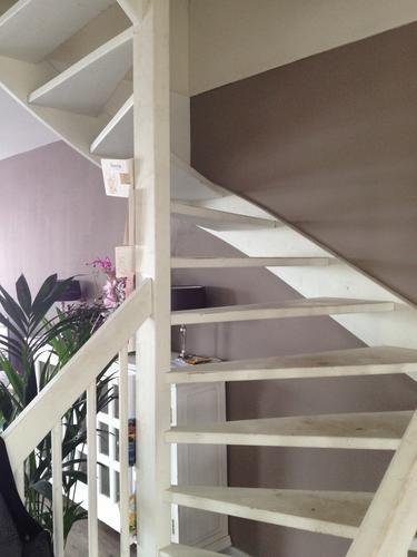 Afbeeldingsresultaat voor open trap woonkamer trap woonkamer ideas pinterest lofts - Trap in de woonkamer ...