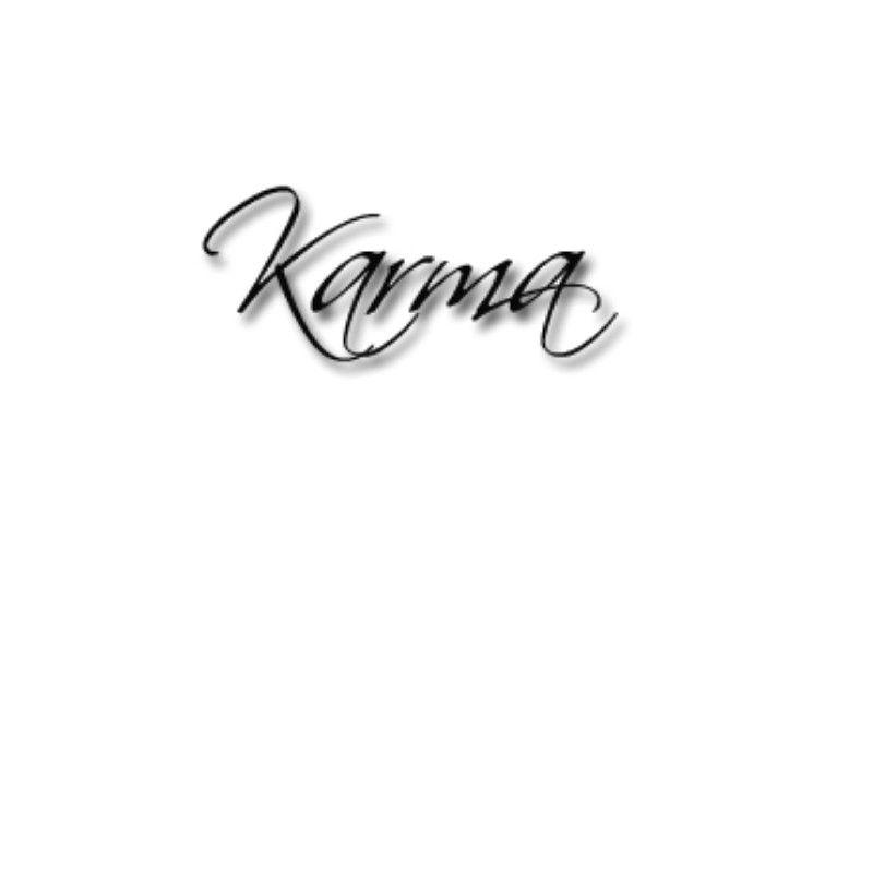Karma Tattoo Design By Hannaroxymolly Me Karma Tattoo Tattoos