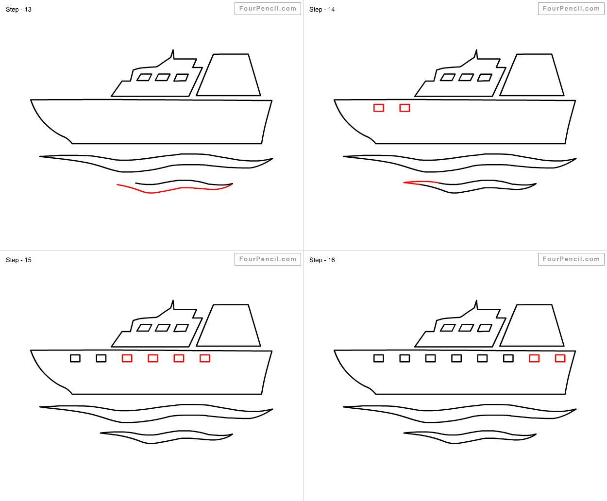 how to draw ship for kids slide 4 click to enlarge